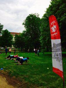 ZIRKELTRAINING mit Korbi - Outdoorsport für Erwachsene