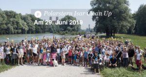 Polarstern Isar Clean Up mit Kulturstrand, Isarlust e.V., den urbanauten und vielen anderen