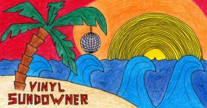 Vinyl Sundowner am Kulturstrand