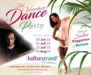 Del Vecchio Dance Party am Kulturstrand :)